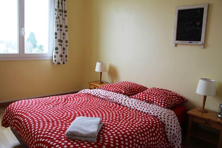 Bedroom north center + free bikes - Rennes - Flat