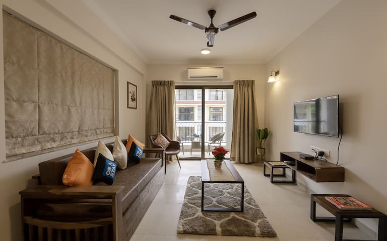 AS1 · Two Bedroom Pool View at Candolim Manolita