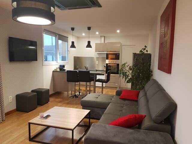maison avec vue