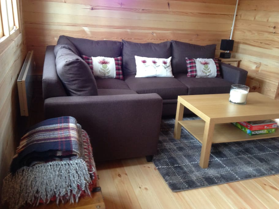 Comfortable, new sofa/bed