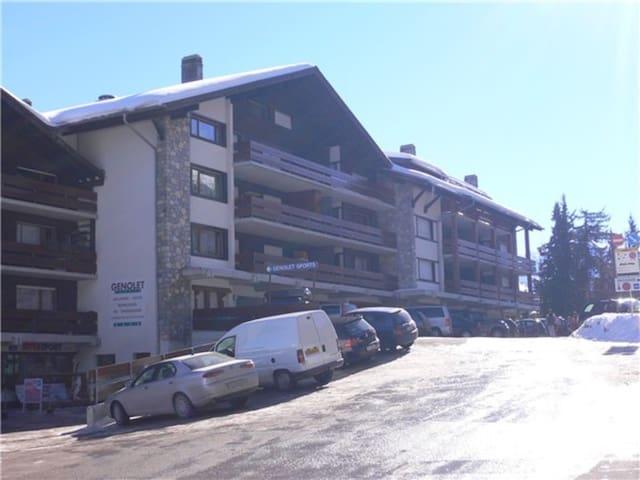 Appartement avec piscine - près des pistes de ski