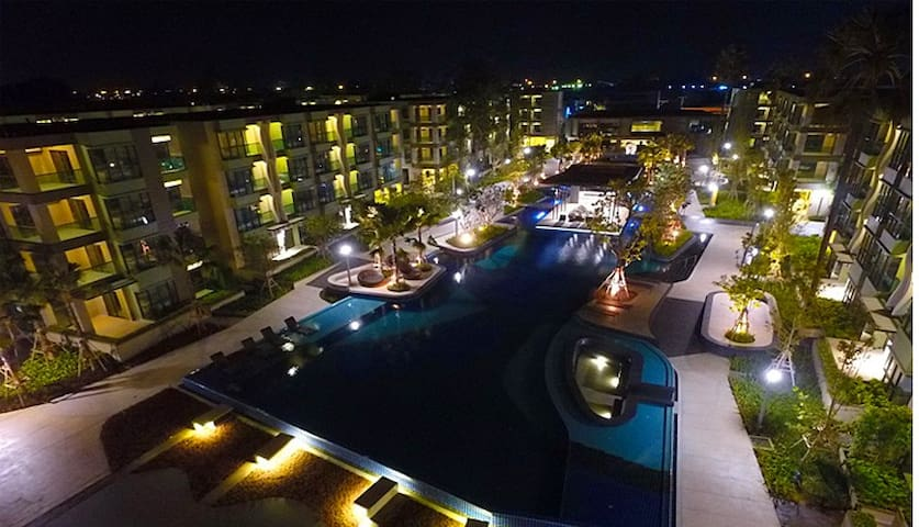 One bed room in a unique and luxury condominium - Tambon Cha-am - (ไม่ทราบ)