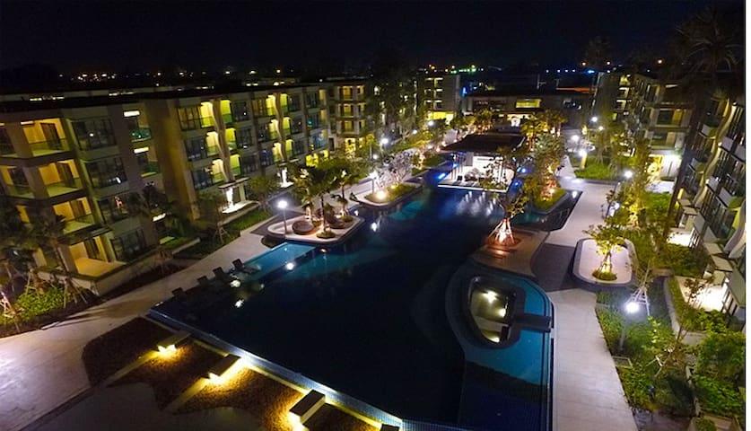 One bed room in a unique and luxury condominium - Tambon Cha-am - Condo