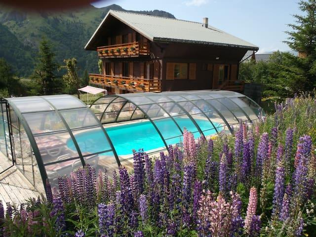 chalet sur piste a Valloire (Savoie) - Valloire - Natur lodge