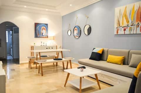 Spacious Apartment @ La Marsa Plage