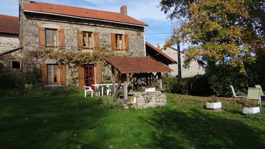 Gîte en Creuse - Saint-Pierre-Chérignat