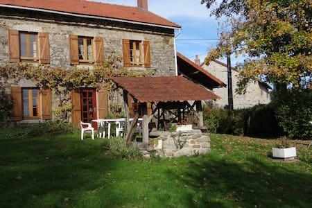 Gîte en Creuse - Saint-Pierre-Chérignat - Домик на природе