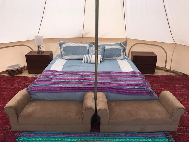 Baja View: One king size bedroom glamping 3.