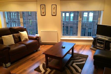 Merchant City 1 bedroom spacious apartment - Glasgow - Leilighet
