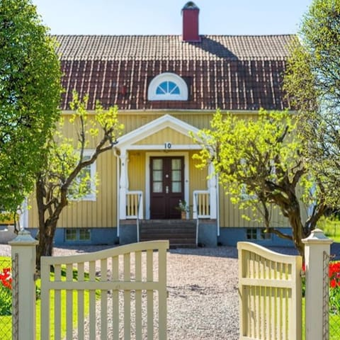 Hus i Vadstena