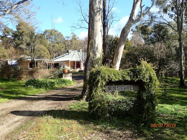 Rosehill on the Ovens River.