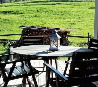 Chalet 6 pers au calme avec grand jardin privatif