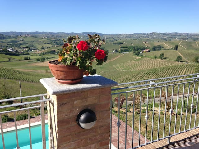 LOVELY APARTMENT Castelnuovo Calcea, Piemonte - Toetto - Apartment
