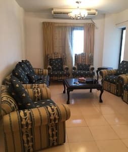 3 bedroom 2 bathroom apartment in El Rehab City