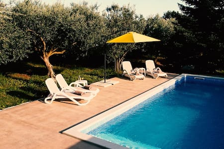 Olive Ranch Apartment Pula - House with POOL