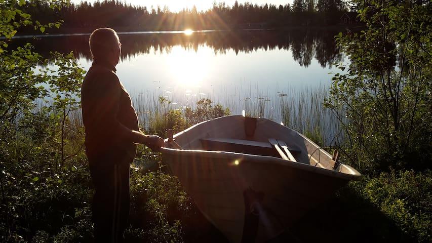 Cosy Cabin in stunning beautiful Swedish Lapland