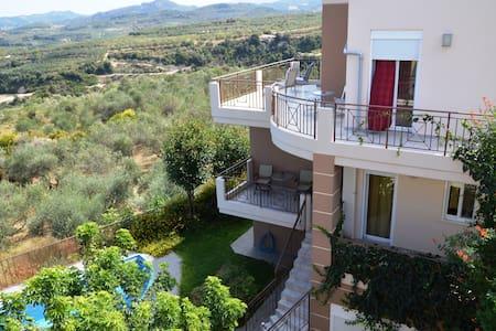 Luxury villa private pool&seaview,2 bedrooms,Wifi - Kontomari - Villa