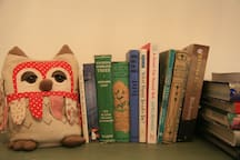 Some of the many books we have for you to read peruse