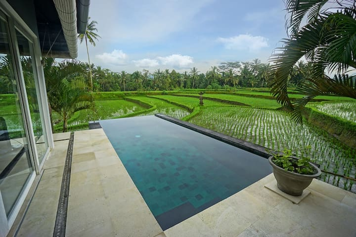 Romantic 2 Bedrooms Villa in Ubud area