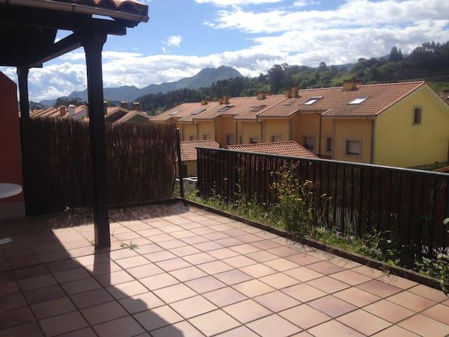 A 300 mts de la playa magnifico apartamento - Ribadesella - Appartement