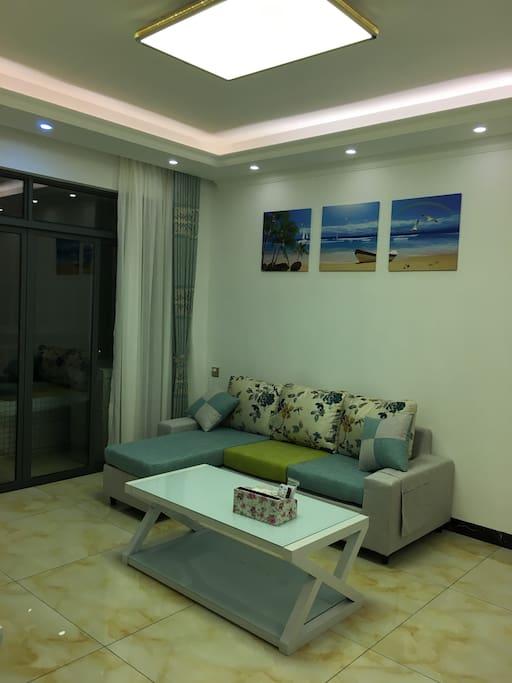 海洋气息的客厅