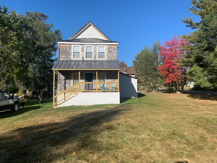 Large house in downtown Rangeley