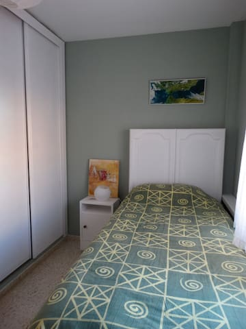 Cozy room with single bed - Tarifa - Appartement