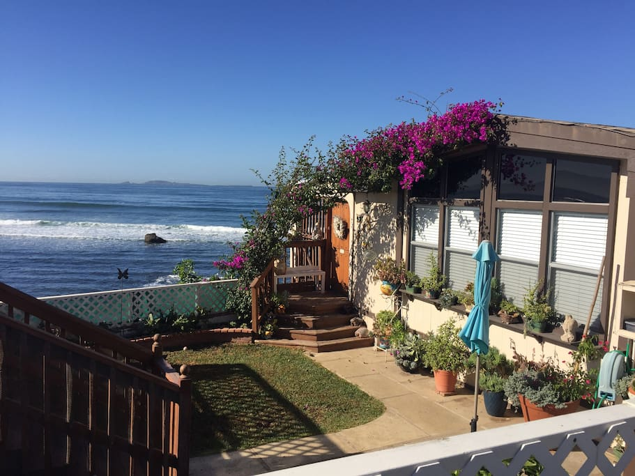Ocean Front Beach Cottage Houses For Rent In Ensenada