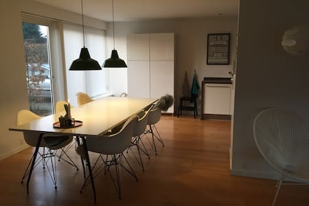 Large family villa close to forest, city and bay. - Vejle - Haus