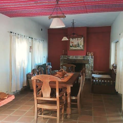 Casa el la Quebrada de Humahuaca