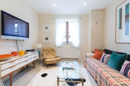 Stylish 1 Bedroom Garden Apartment, Free Parking
