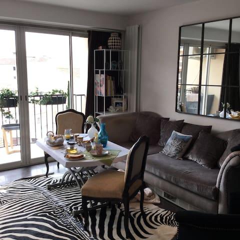 B&B avec 2 chambres cosy - Sainte-Maxime - Apartamento