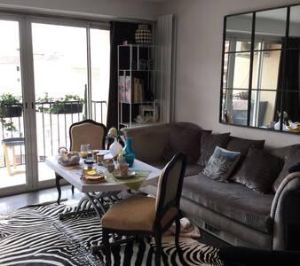 B&B avec 2 chambres cosy - Sainte-Maxime - Appartement