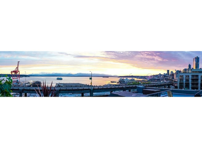 Modern Downtown Penthouse, Water View Private Deck - Seattle - Apartament
