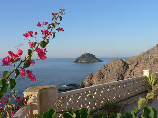 "Ferien im ""Casa Estrella"" mit Pool! - Águilas - Rumah"