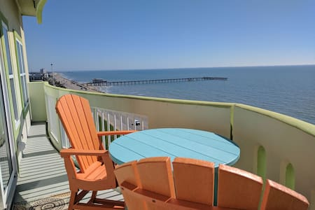 Front Row, 10th Flr, Corner Unit, Close 2 EvryThng - Galveston - Appartement