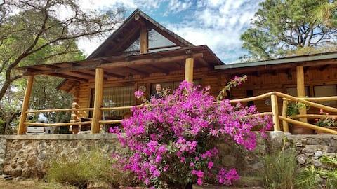 Acogedora cabaña en el bosque de Tapalpa