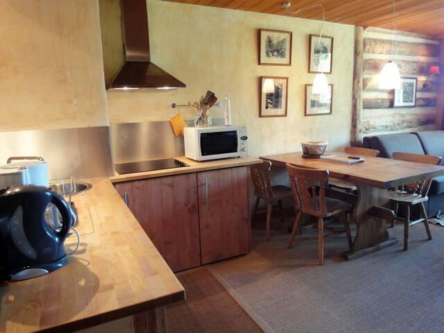 Cuisine ouverte / Open kitchen