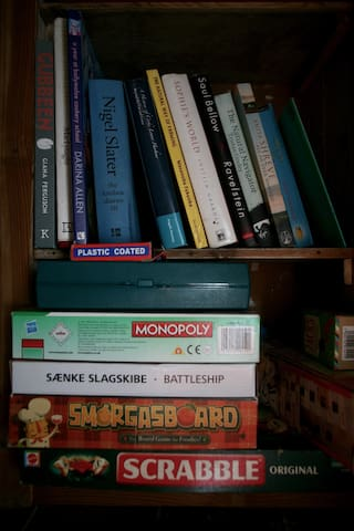 Boardgames and books