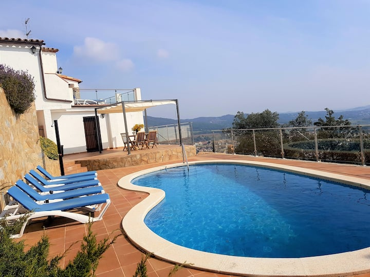 Villa Panorama outstanding sea view /private pool