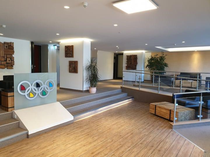 Studio im Hotel Olympia in direkter Strandlage