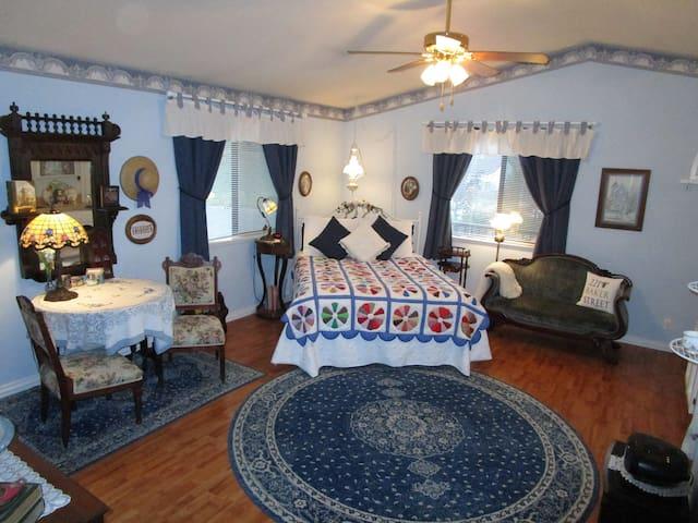 Mrs. Hudson's Hideaway, a Victorian lover's dream