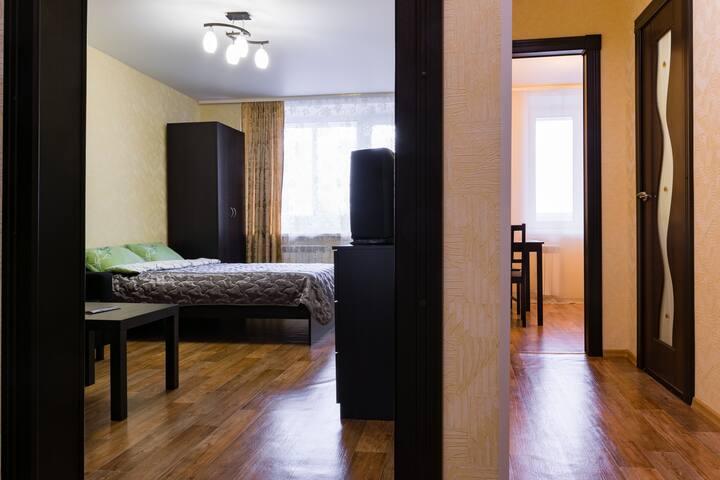 Гостеприимная квартира для туриста - Nizhnij Novgorod - Apartment