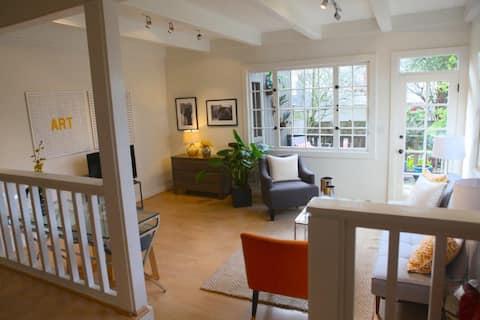 Ashbury Heights 1 BR Garden Apartment