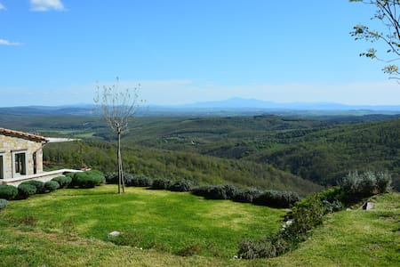 LE BALZE. LOVELY VIEW OF TUSCANY - Rosennano