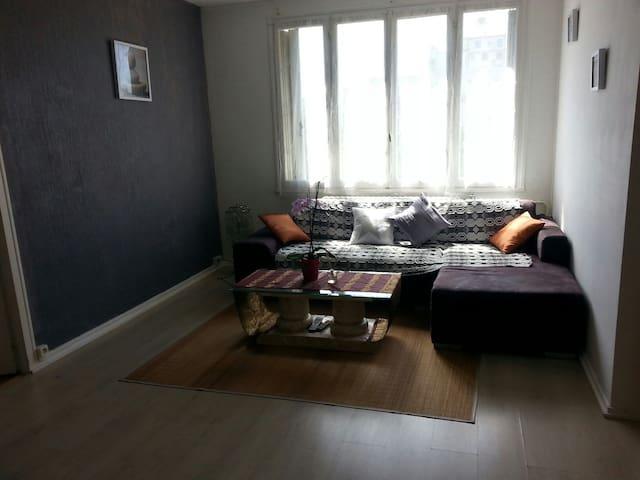 Appartement F4 bord de Loire