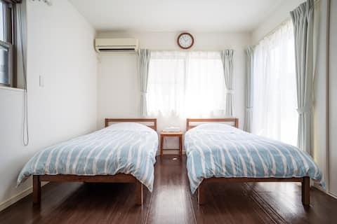 KOSHIGOE seaside inn 海目の前!!江の島・鎌倉観光の拠点に貸切アパートメント