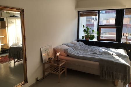 Cosy flat - great location in Nørrebro - 코펜하겐(Copenhagen) - 아파트