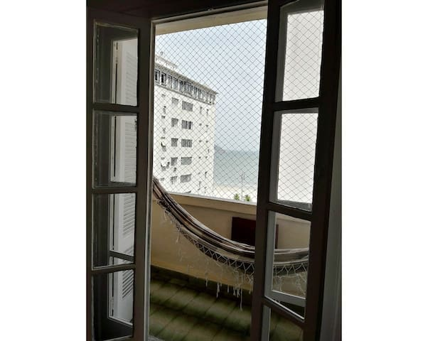 Varanda com vista para o mar :)