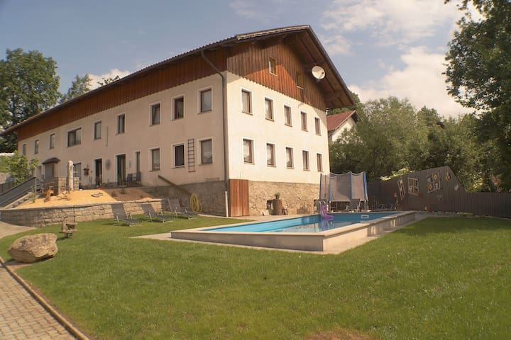 Holidays in Bavaria with a swimming pool